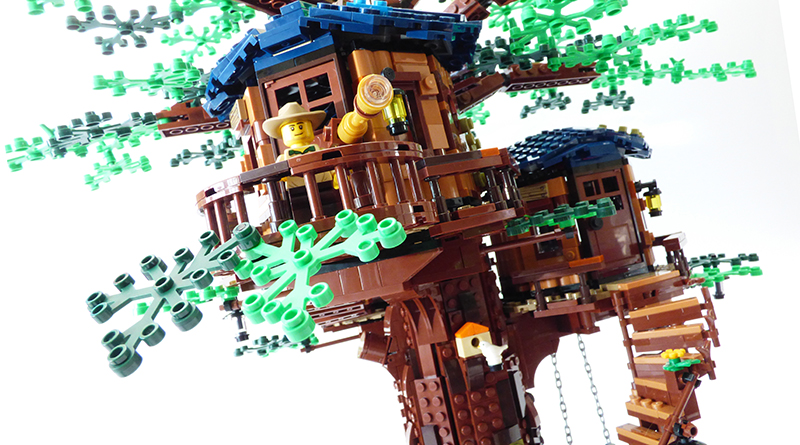 LEGO Ideas 21318 Treehouse Review Featured 800 445 2