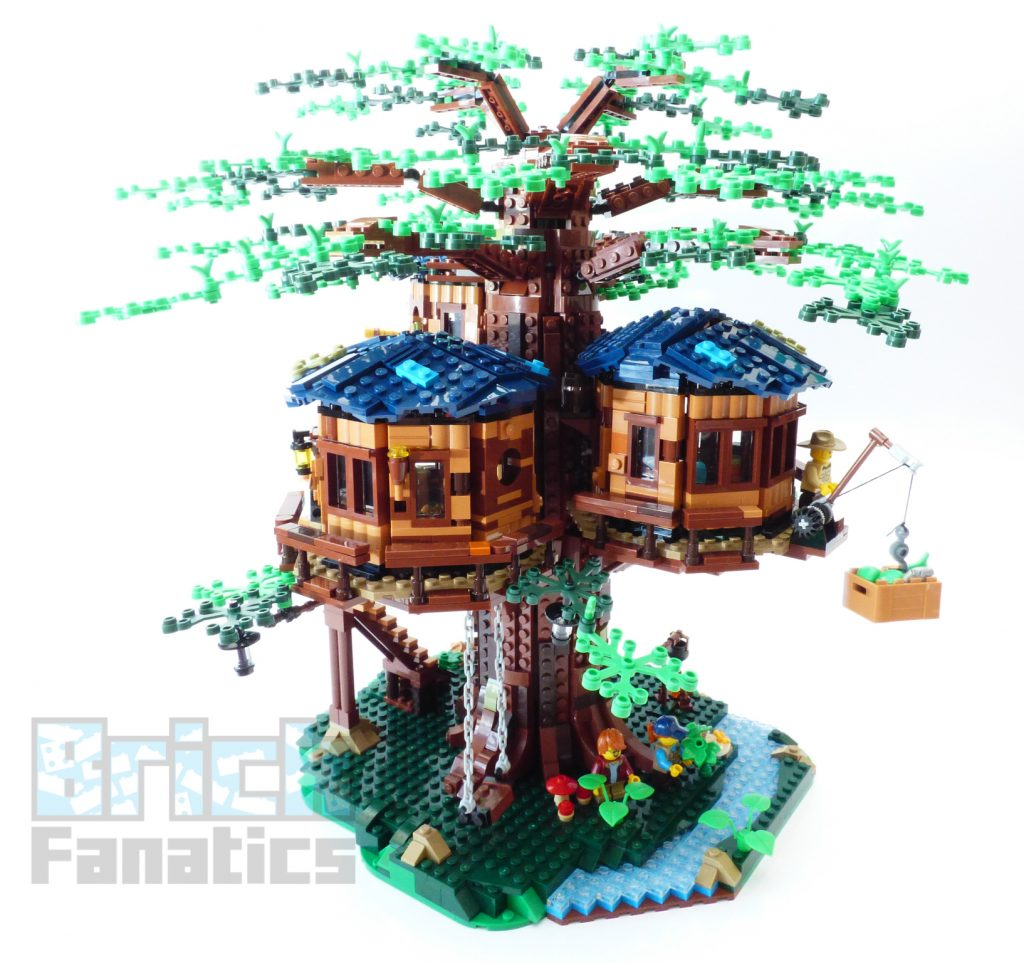 Picture of: Lego Ideas 21318 Tree House Review By Brick Fanatics