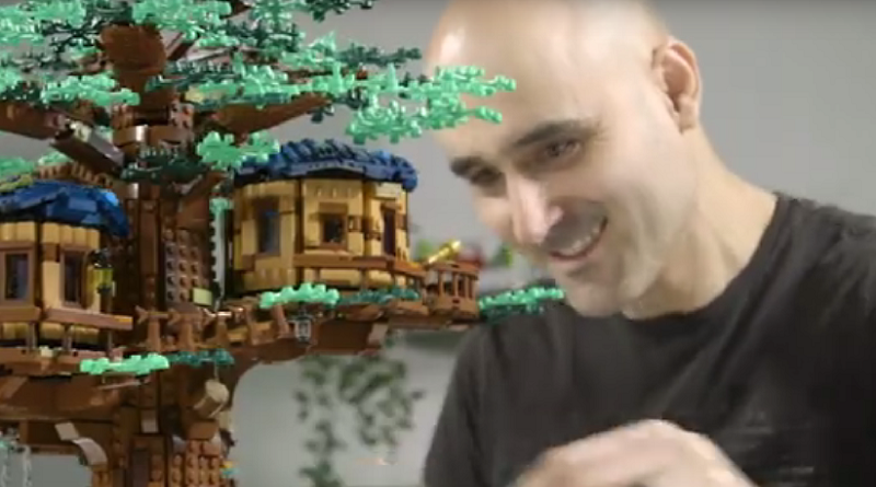 LEGO Ideas 21318 Treehouse Video Featured 800 445