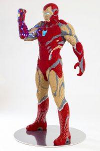 LEGO Iron Man San Diego Comic Con Statue 1 200x300