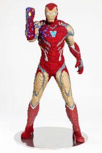 LEGO Iron Man San Diego Comic Con Statue 3 200x300