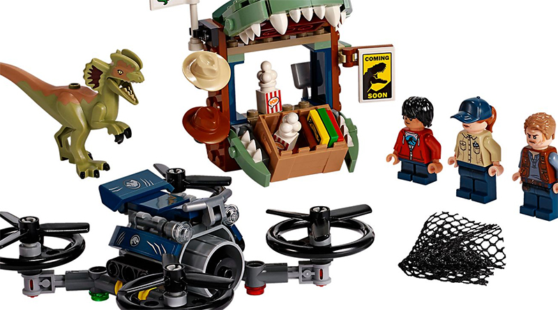LEGO Jurassic Park 75934 Dilophosaurus Loose Featured 800 445