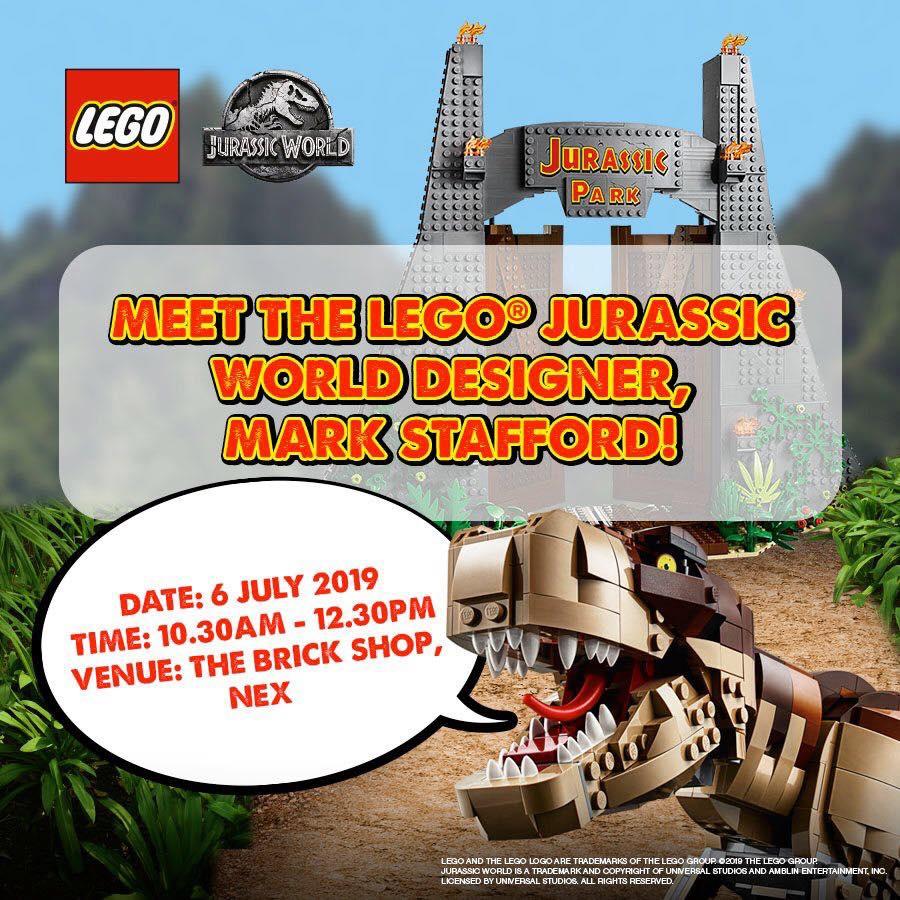 LEGO Jurassic Park Designer Meet