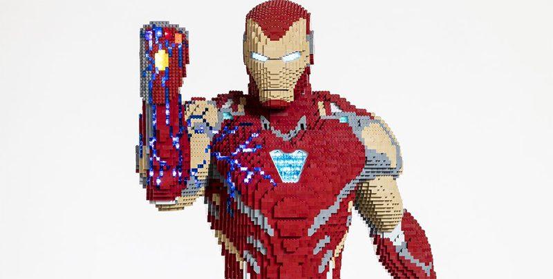 LEGO Marvel Avengers Iron Man Statue Featured 800 445 800x404