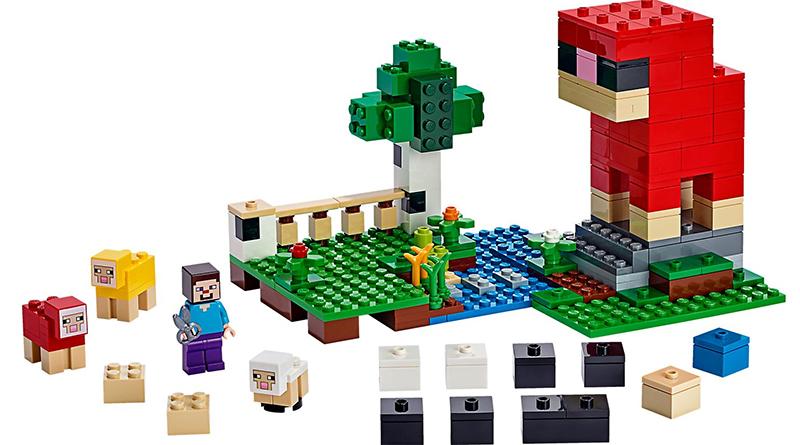 LEGO Minecraft 21153 The Wool Farm Featured 800 445