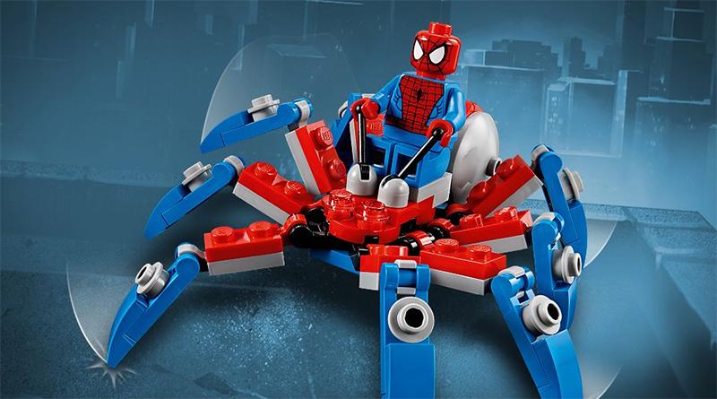 LEGO Spider Crawler polybag Spider Man feastured 800 445