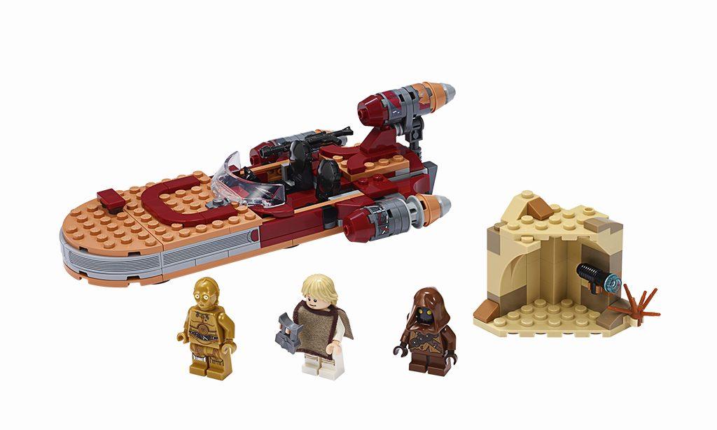 LEGO Star Wars 75271 Lukes Landspeeder 1024x615