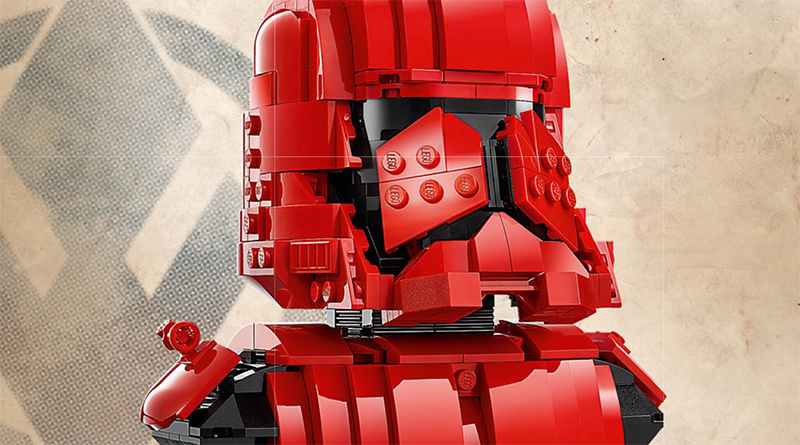 LEGO Star Wars 77901 Sith Trooper instructions featured 800 445
