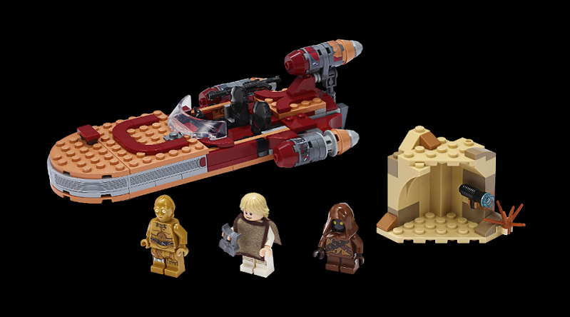 LEGO Star Wars Landspeeder 2020 Featured 800 445
