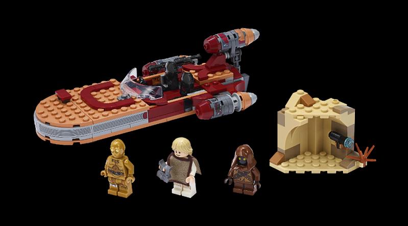 LEGO Star Wars Landspeeder 2020 featured 800 445
