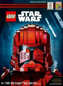 LEGO Star Wars SDCC 77901 Sith Trooper Bust 4 222x300