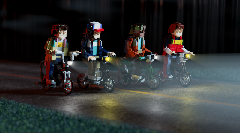 LEGO Stranger Things Bikes 800x445
