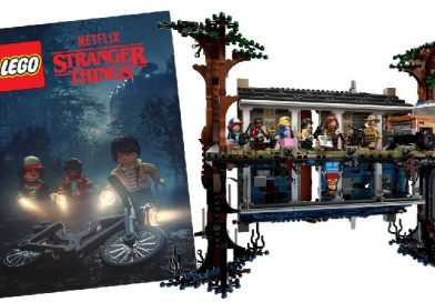 LEGO Stranger Things 75810 The Upside Down free poster deal extended