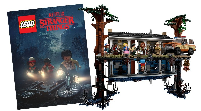LEGO Stranger Things Poster Featured 800 445
