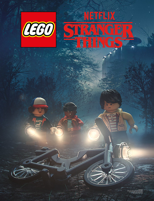 LEGO Stranger Things Poster