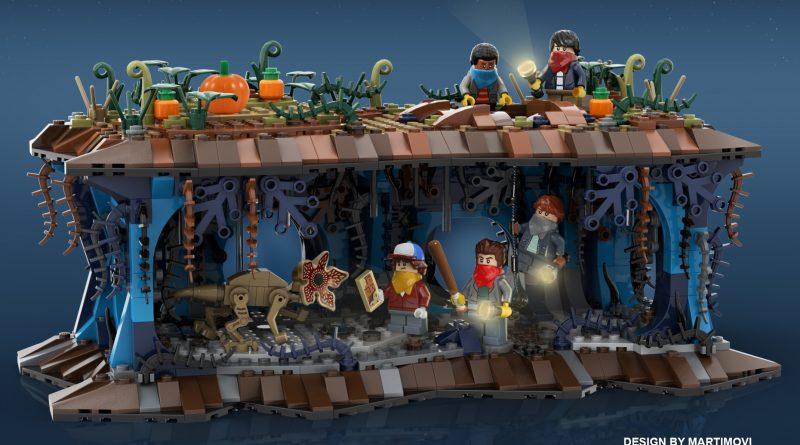 LEGO Stranger Things Tunnels 800x445