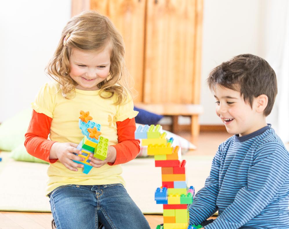 LEGO Children Play DUPLO