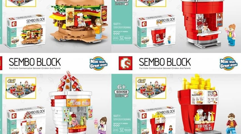 LEGO knock off Sembo featured 800 445