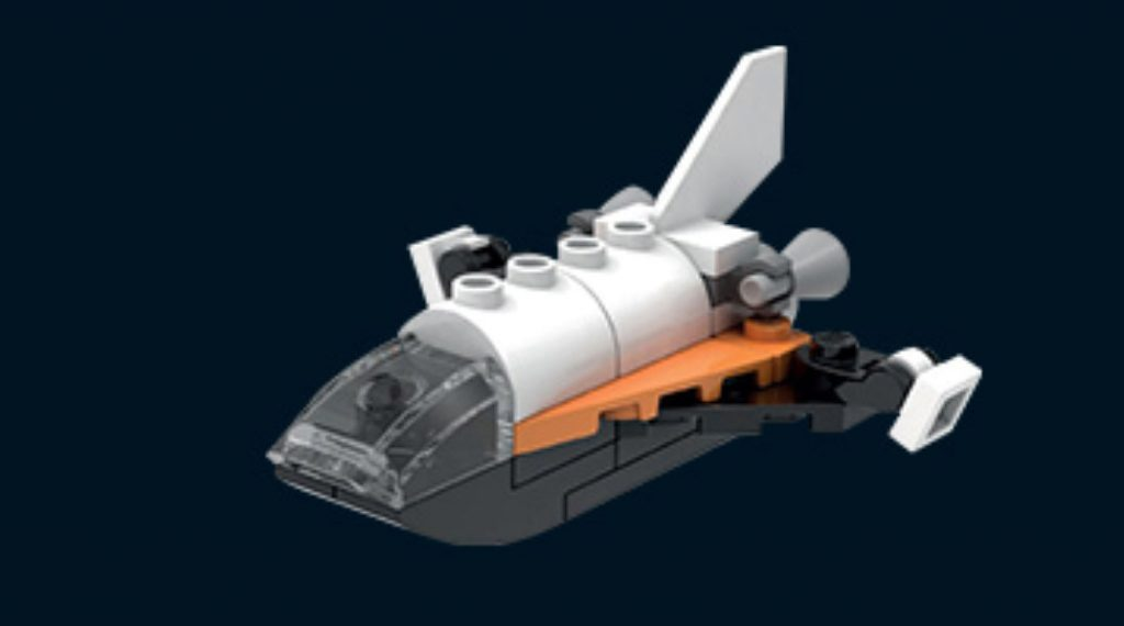 LEGO Make Take Space Shuttle Featured 800 445