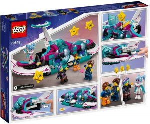 The LEGO Movie 2 70849 Wyld Mayhem Starfighter 4 300x249