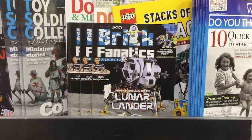 Brick Fanatics Magazine Issue 8 In UK Stores
