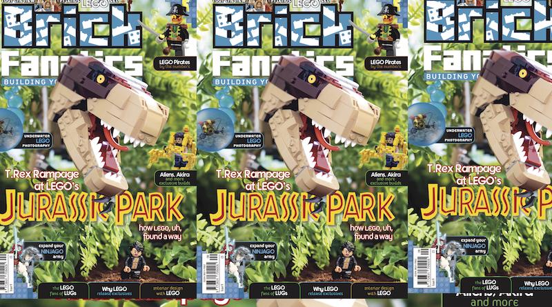 Brick Fanatics Magazine Issue 9 Cover Title