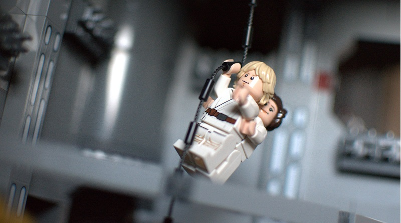Brick Pic of the Day: Daring escape