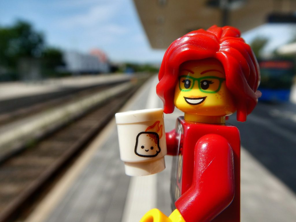 Brick Pic minifigure train