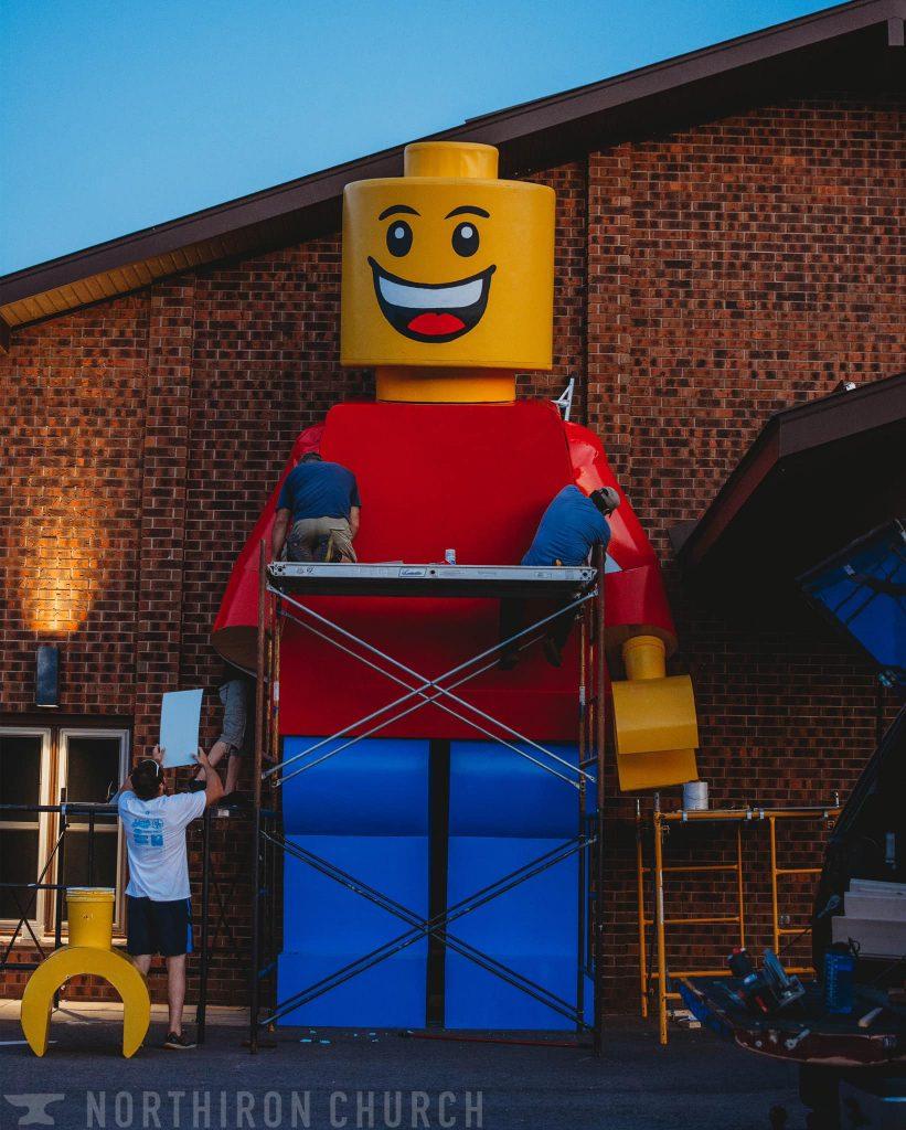 Giant LEGO Minifigure 821x1024