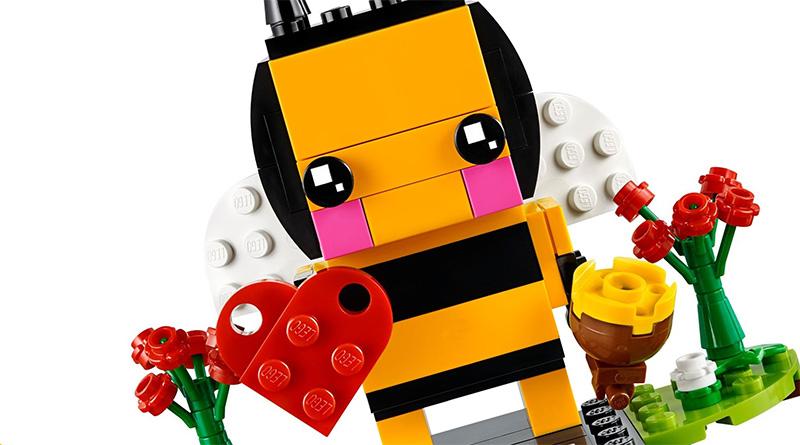 LEGO BrickHeadz 40270 Valentines Bee Featured 800 445