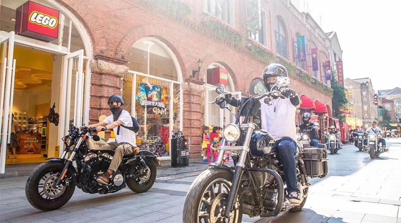 Harley Davidson: LEGO Harley-Davidson Event Saw AFOLs And Bikers Build Together
