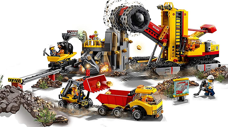 LEGO City 60188 Mining Experts Site Featured 800 445