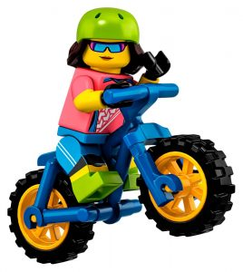 LEGO Collectible Minifigures Series 19 Biker 268x300