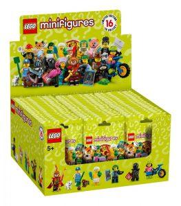 LEGO Collectible Minifigures Series 19 Box 263x300