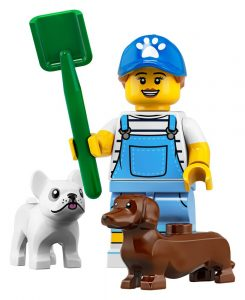 LEGO Collectible Minifigures Series 19 Dog Sitter 245x300