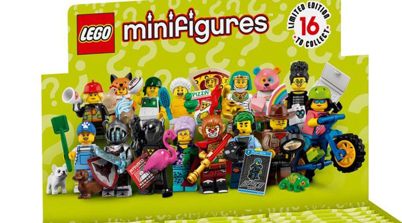 LEGO Collectible Minifigures Series 19 Featured 1 800 445