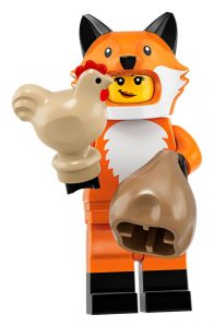 LEGO Collectible Minifigures Series 19 Fox Girl 196x300