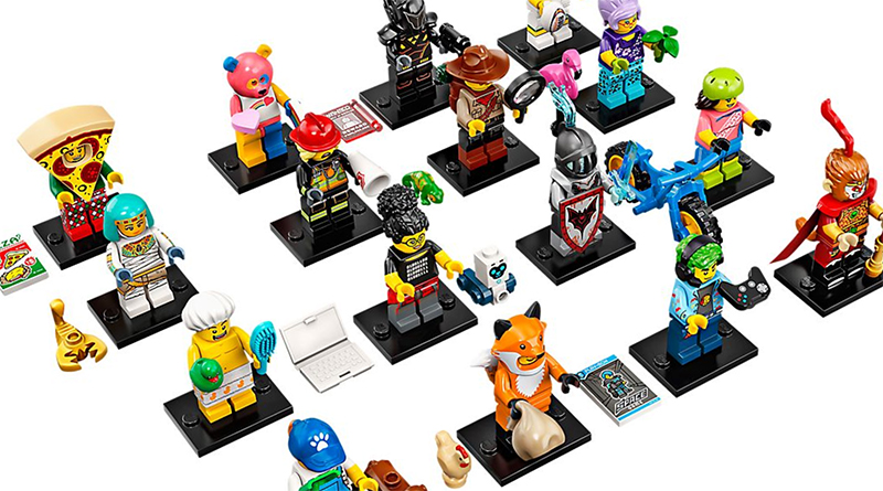 LEGO Collectible Minifigures Series 19 Full Featured 800 445