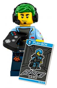 LEGO Collectible Minifigures Series 19 Gamer 193x300