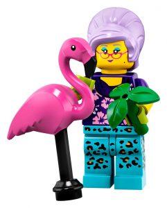LEGO Collectible Minifigures Series 19 Groovy Grandma 241x300