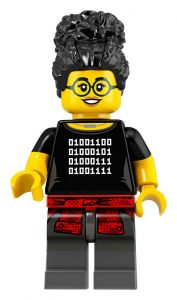 LEGO Collectible Minifigures Series 19 Hacker 177x300