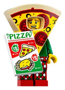 LEGO Collectible Minifigures Series 19 Pizza Man 216x300