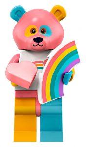 LEGO Collectible Minifigures Series 19 Rainbowpanda 176x300