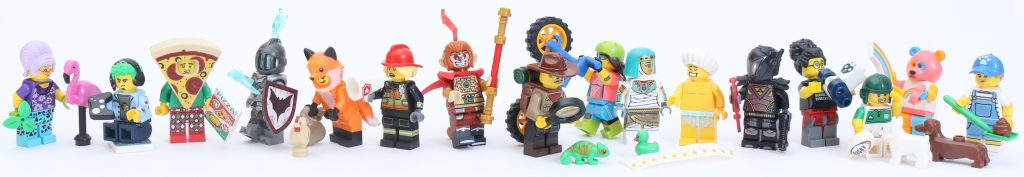 LEGO Collectible Minifigures Series 19 Review All 1024x177