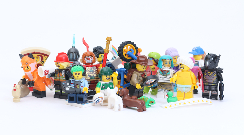 LEGO Collectible Minifigures Series 19 review