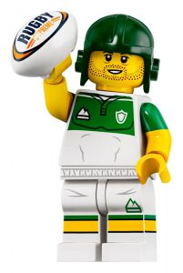 LEGO Collectible Minifigures Series 19 Rugby 201x300