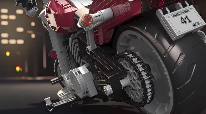 LEGO Creator Expert 10269 Harley Davidson Fat Boy animated featured 800 445
