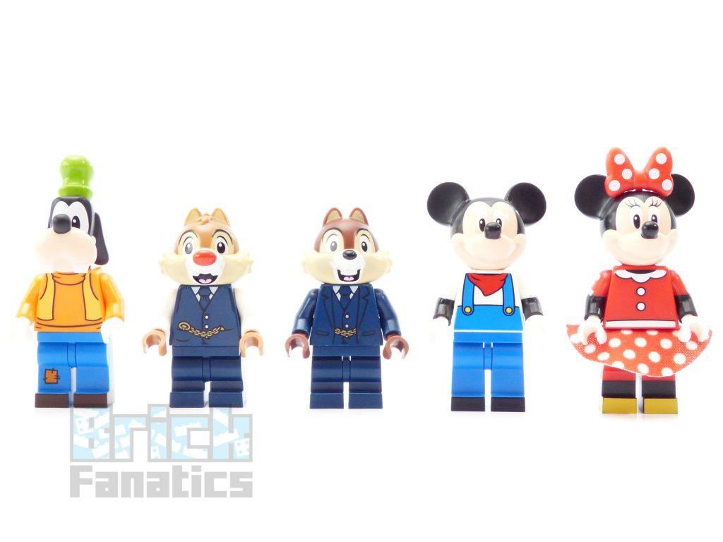 71044 Disney minifigures