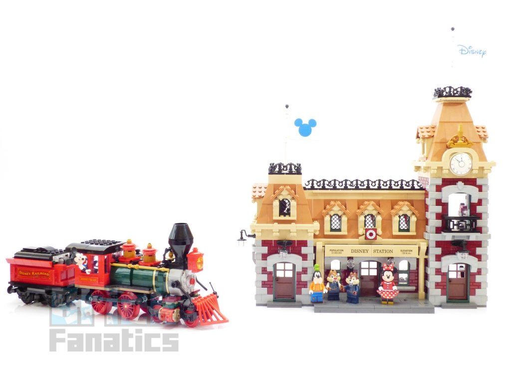 LEGO Disney 71044 Disney Train and Station – how is the app