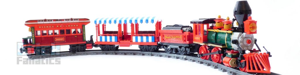 71044 Disney Train on tracks